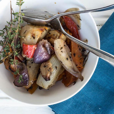 Local Roast Vegetables From Gamble & Brown at Your Food Collective