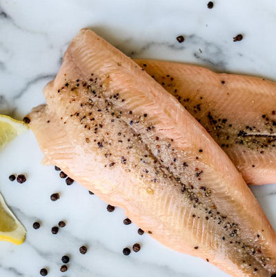 Local Lemon Pepper Smoked Trout from Arc-en-Ciel trout Farm at Your Food Collective