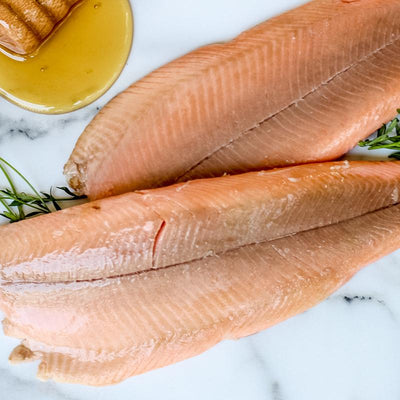 Local Honey Smoked Trout from Arc-en-Ciel Trout Farm at Your Food Collective
