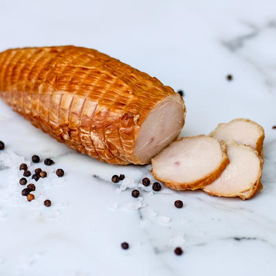 Local Smoked Chicken from Arc-en-Ciel trout Farm at Your Food Collective