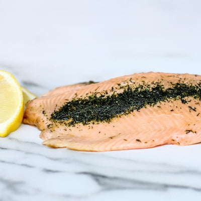 Local Lemon and Dill Smoked Trout from Arc-en-Ciel trout Farm at Your Food Collective