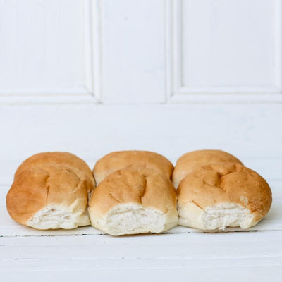 Local White Rolls from Papa Al's Bakery at Your Food Collective