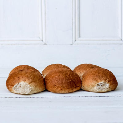 Local Wholemeal Rolls from Papa Al's Bakery at Your Food Collective