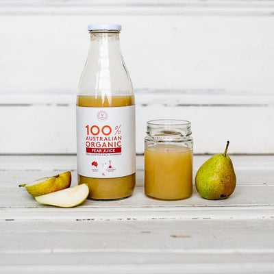 Local juice from Australian Organic Food Co at Your Food Collective