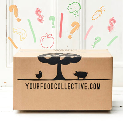 Local Budget fruit and vegetable set box at Your Food Collective