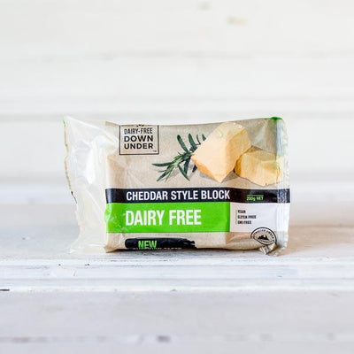 Local Cheddar Style Block - Dairy Free 200g