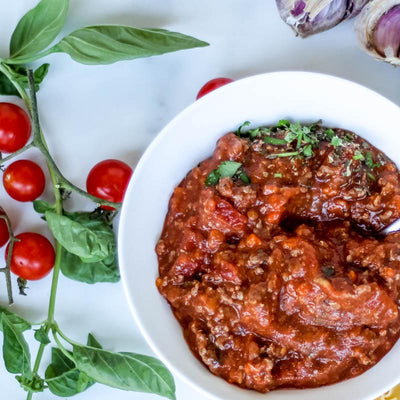 Local Organic Bolognaise Sauce from Producer The Happy Spoon at Your Food Collective