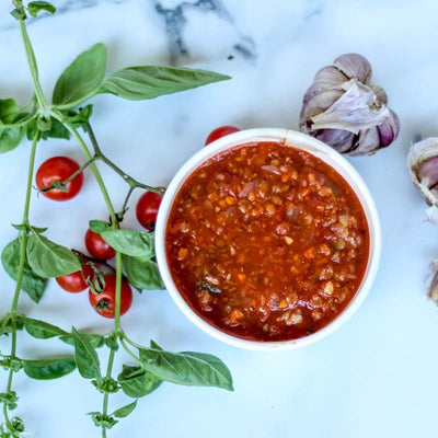 Local Tomato and Lentil Pasta Sauce (1kg) - 4 Serves