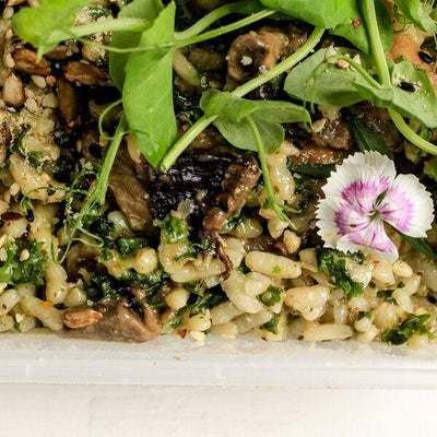 Local Vegan Risotto from Mama P at Your Food Collective