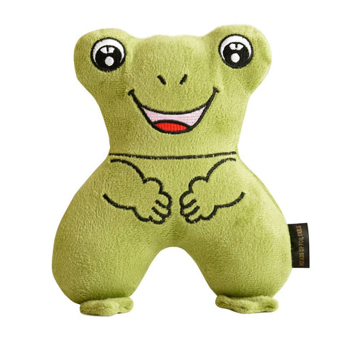 GiGwi TPR Bone 'Flying Tug' Green Dog Toy