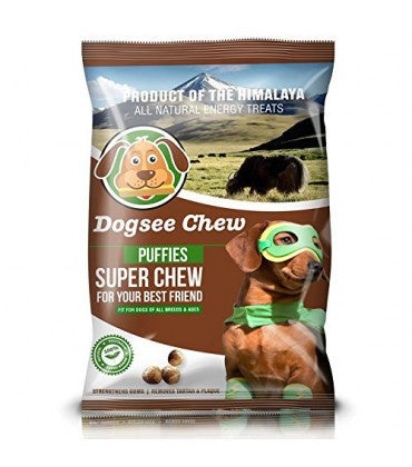 DogSee Chew Puffies Dog Treats 70 g