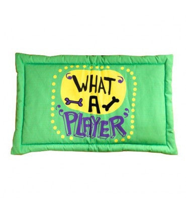 HUFT What a player Dog Mat-Large