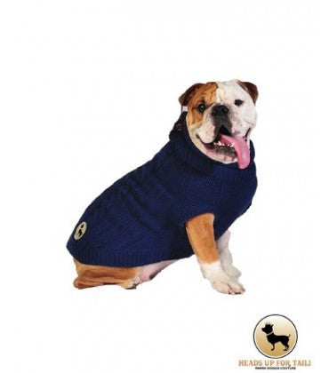 HUFT Woolies: Dog Sweater - Blue