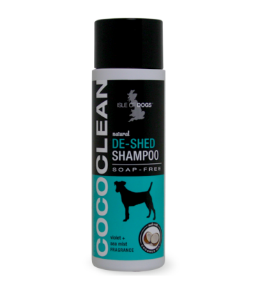 Isle Of Dogs CocoClean DeShed Dog Shampoo 250 Ml