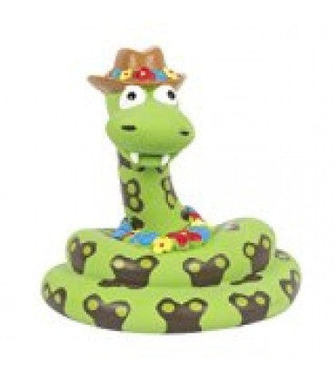 Pet Brands Latex Snake Squeaker Toy