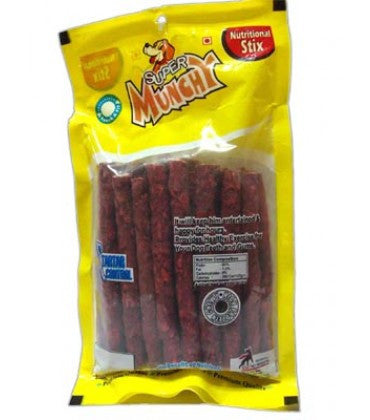 PNC MUnchy Twisted Stick Mutton Dog Treats 1 kg
