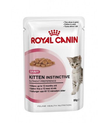 Royal Canin Kitten Instinctive Kitten Food 85 g