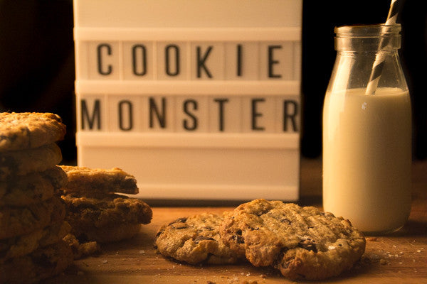 Dark chocolate and sea salt Oatmeal cookies