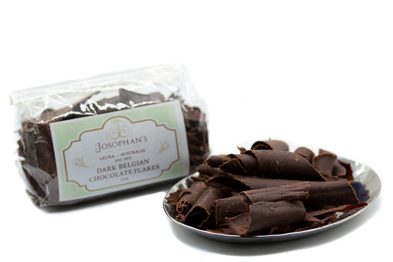 Dark chocolate curls - 100g