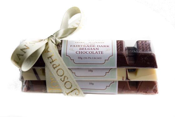 Trio of Chocolate Blocks