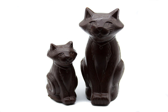 Dark Chocolate Cat & Kitten
