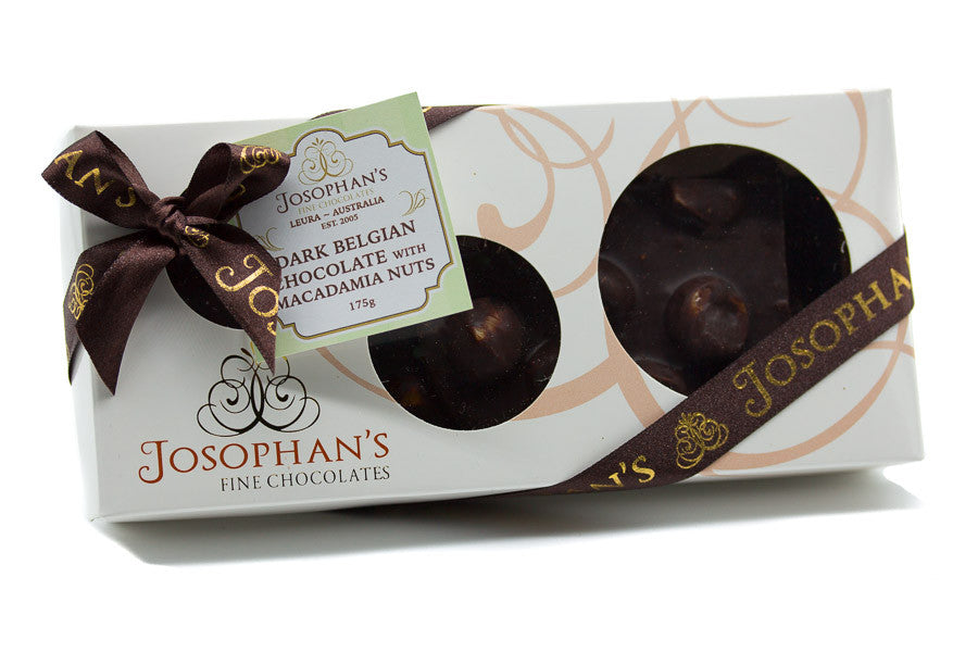 Dark Chocolate with Macadamia Nuts