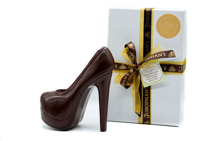 Dark Chocolate Platform Stiletto Heel