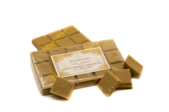 Gold Caramel Chocolate with Sea Salt