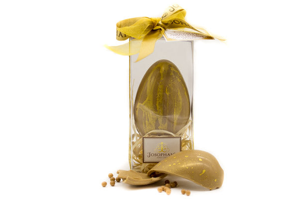 'Gold' Caramel Chocolate Easter Egg