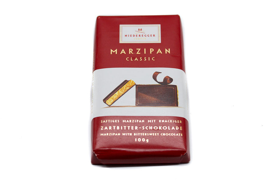 Marzipan Block - Dark Chocolate Covered