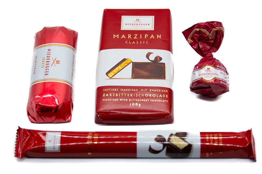 Marzipan Cherry Twists - Dark Chocolate Covered