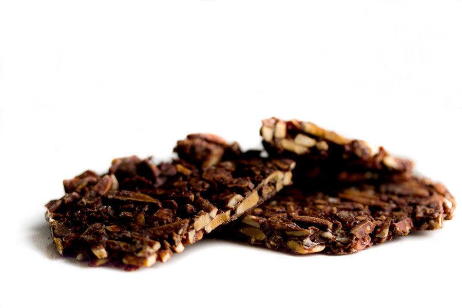 Dark chocolate, Orange & Almond Crunch