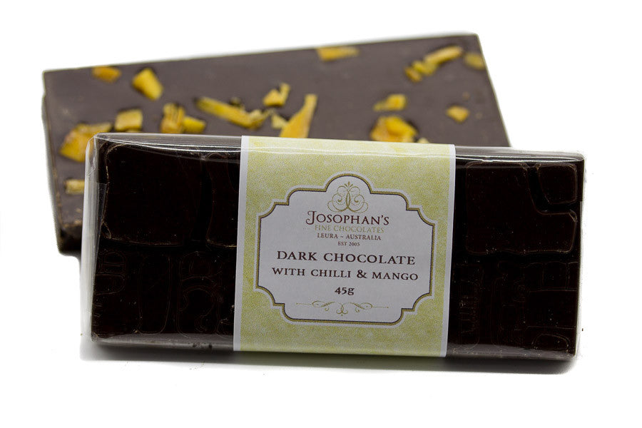 Dark Chocolate Block with Chilli & Mango