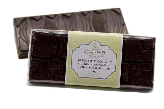 Dark Chocolate Block Single Origin - Tanzanie 75%
