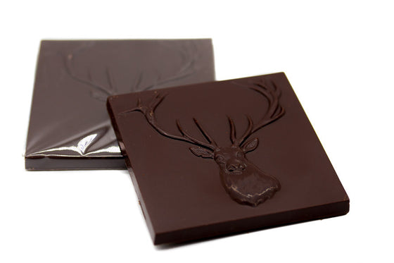 Dark chocolate 'Stag' Bar