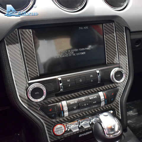 2015-17 Carbon Fiber Center Control Panel Overlay