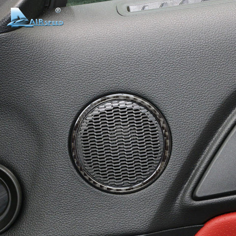 2015-17 Carbon Fiber Door Speaker Overlay