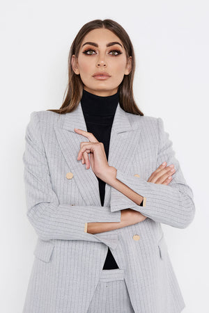 The King of Wishful Thinking Blazer (Grey)