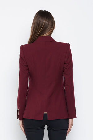 The King of Wishful Thinking Blazer (Wine)