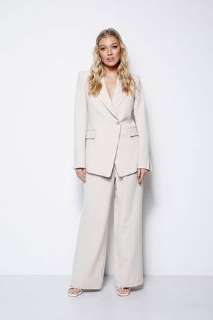 The Gere Blazer - Creme (Pre Order * end of Jan delivery)