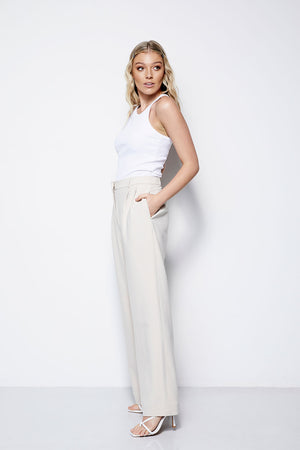 The Palazzo Pant - Creme (Pre Order * end of Jan delivery)