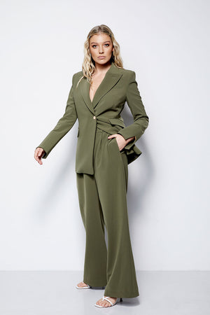 The Gere Blazer - Olive (Pre Order * end of Jan delivery)