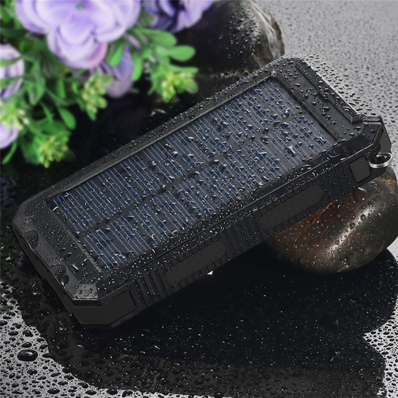 wholesale dealer be7d6 5268f High Capacity, 20000 mah, Waterproof Portable Mobile Solar Charger Power  Bank