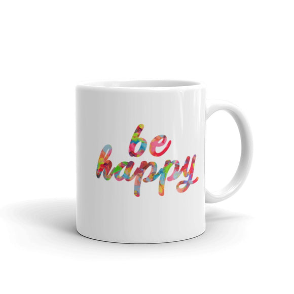 Be Happy Coffee Mug One