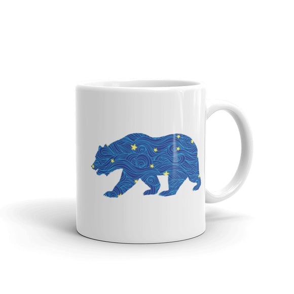 Bear Walking Coffee Mug One