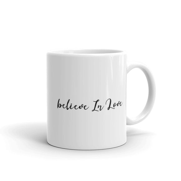 Believe In Love Coffee Mug One