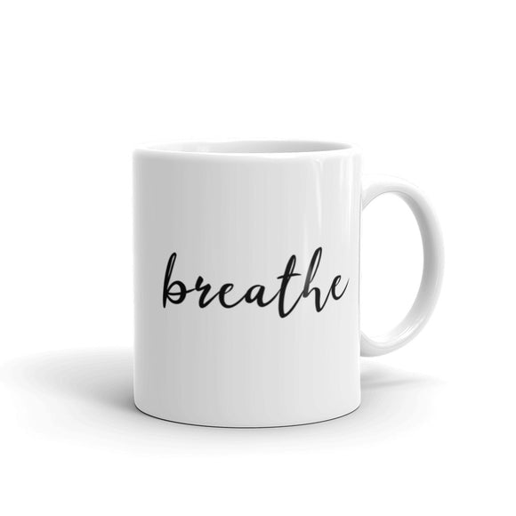 Breathe Coffee Mug One