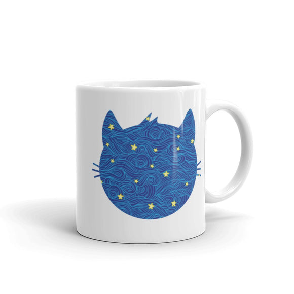 Cat Face Coffee Mug One