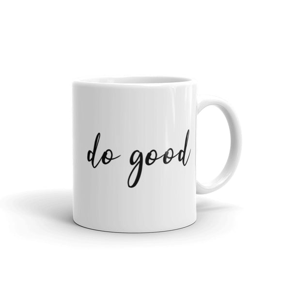 Do Good Coffee Mug One
