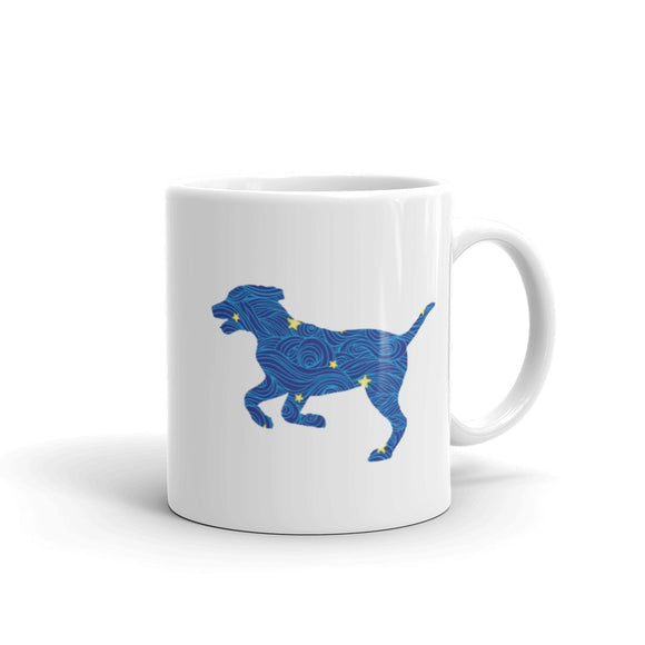 Dog Running Coffee Mug One